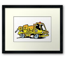 Rural Fire Brigade truck (Queensland) Framed Print