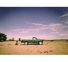 Lonely Pickup Photographic Print