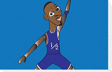 li'l penny hardaway jumpman  by jeffaz81