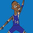 li'l penny hardaway jumpman  by jeffaz81
