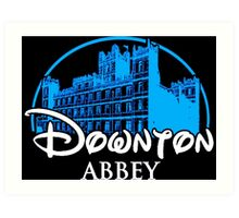 Downton Abbey Castle Art Print