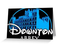 Downton Abbey Castle Greeting Card