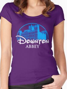 Downton Abbey Castle Women's Fitted Scoop T-Shirt