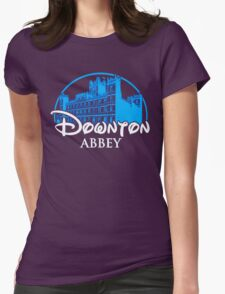 Downton Abbey Castle Womens Fitted T-Shirt