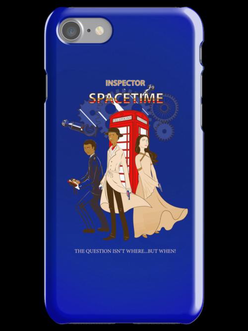 Inspector Spacetime II by violinsane