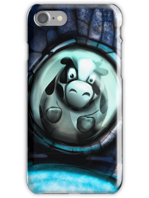 Cow In Space by Isaia