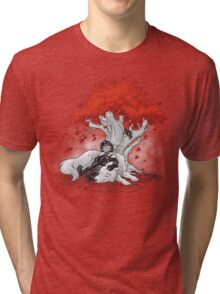 Dreaming of a Quiet Winter Tri-blend T-Shirt