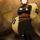 Gaara 1 - Naruto iPhone Case by squidkid