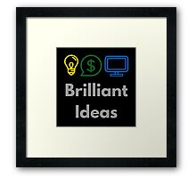 Brilliant Ideas Framed Print