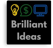 Brilliant Ideas Canvas Print
