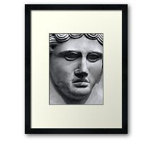Face from the past 2 Framed Print