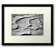 Snow Scapes  Framed Print