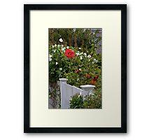 Cape Garden Framed Print