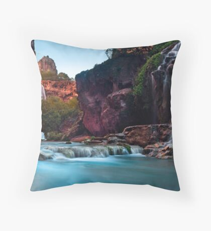 Falling in Harmony Throw Pillow