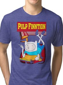 Funny Pulp Finntion Adventure Time Tri-blend T-Shirt