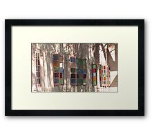 Discrete elite  Framed Print