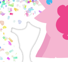 Pinkie Pie Confetti Vomit Sticker