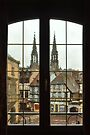 Obernai window by Morag Anderson