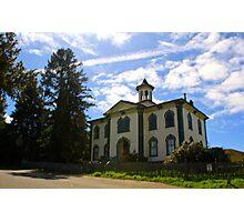 Old Bodega Schoolhouse Photographic Print