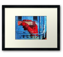 Windsor Graffiti Framed Print