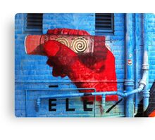 Windsor Graffiti Canvas Print