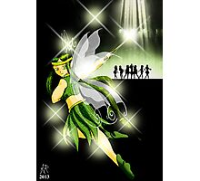 Alphabet Fairy- Starshine Photographic Print