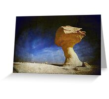Textured Rock Formation Greeting Card
