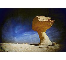 Textured Rock Formation Photographic Print