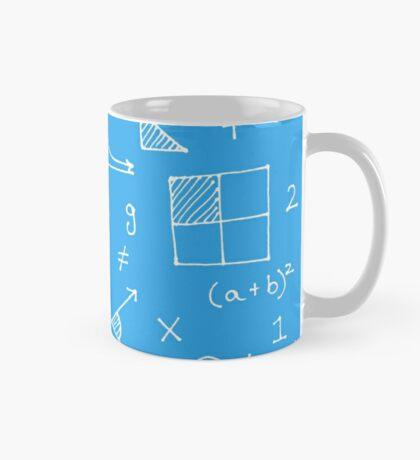 Math formulae (blue) Mug