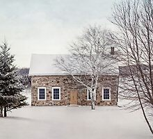 little stone house by Janice Squires