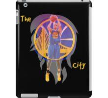 NBA Stephen Curry Warriors Fire iPad Case/Skin
