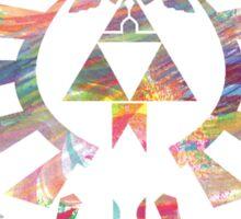 The Legend of Zelda - Hyrule Crest + Master Sword // Water Color Edition Sticker