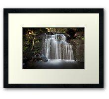 Strickland Falls, South Hobart, Tasmania #4 Framed Print