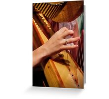 """Celtic Strings"" Greeting Card"