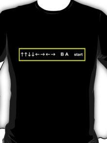 Konami Code T-Shirt