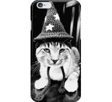 cat wizard iPhone Case/Skin