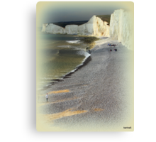 England's Cliffs at Birling Gap Canvas Print