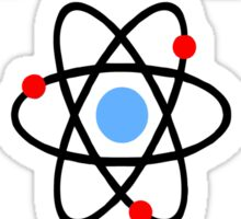 Science Supports: Think Like Proton and Stay Positive! Sticker