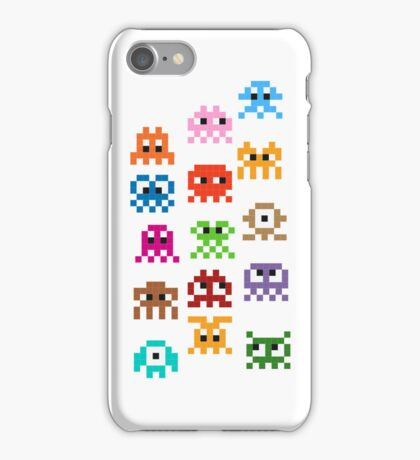 Pixel Art Monsters iPhone Case/Skin