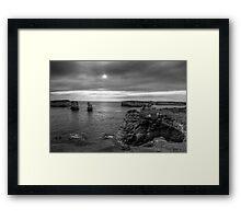 Great Ocean Road Rocks Framed Print