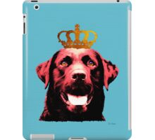 Dog with a crown. iPad Case/Skin
