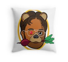 Dwight Schrute (The Office) Throw Pillow