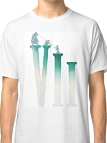 Final Fantasy VII: The Sacrifice Of Cloud - Numbers and Characters REMADE Classic T-Shirt