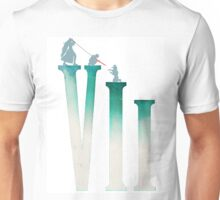Final Fantasy VII: The Sacrifice Of Cloud - Numbers and Characters REMADE Unisex T-Shirt