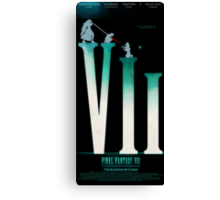Final Fantasy VII: The Sacrifice Of Cloud POSTER Canvas Print