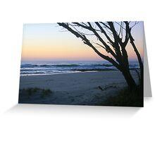 Daybreak at South Kingscliff ... Greeting Card