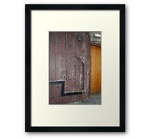 Judas Door Framed Print