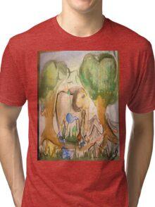 elephant world Tri-blend T-Shirt