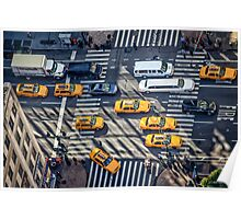 Traffic on Sixth Avenue Poster