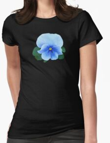 Baby Blue Pansy T-Shirt